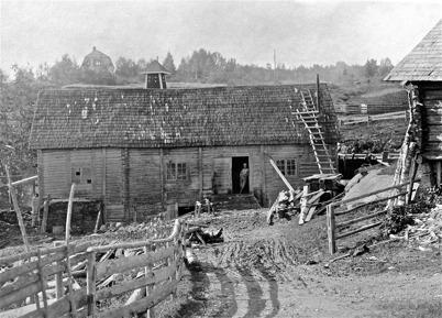 Kvarnen i Rommenäs, Östervallskog - 1923.
