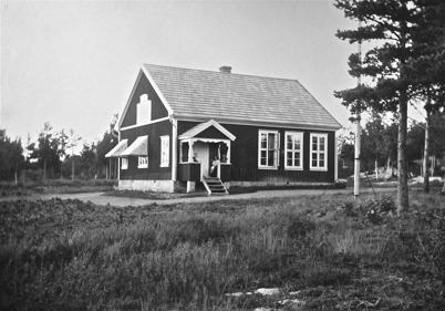 Stensbyns skola. Foto: J B Söderblom