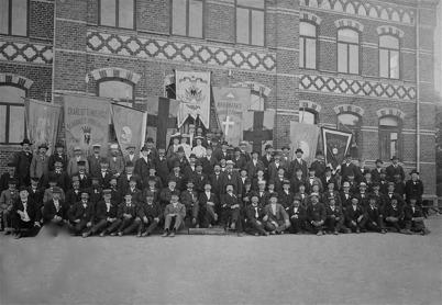 Wermlands Blå Bands förbund år 1905 i Seffle.