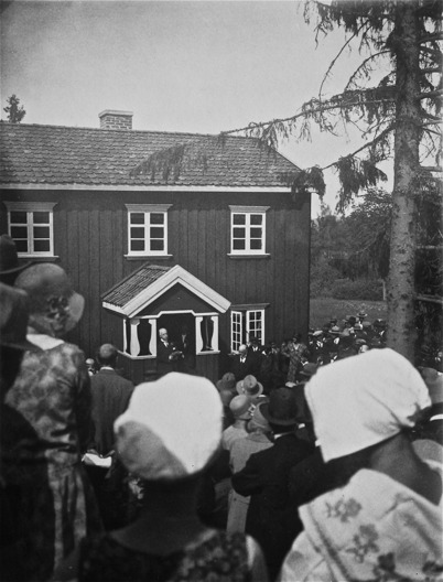 Nordmarksstugan i Töcksfors