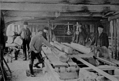 Snickerifabriken Holmen Östervallskog.