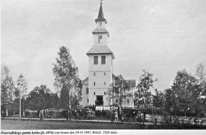 Östervallskogs gamla kyrka
