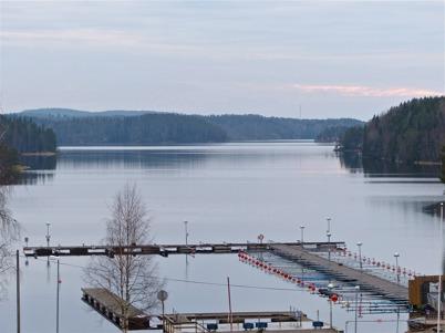 1 januari 2014 - Isen hade ännu inte lagt sig på sjön Foxen.