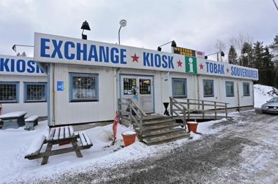21 januari 2014 - Gamla gränsbutikens dagar  skulle snart vara över.