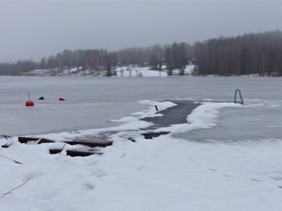 9 februari 2014 - Det var ett varierande vinterväder.