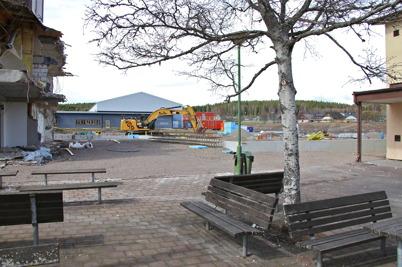 13 april 2014 - I Årjäng började man lägga grunden för nya högstadieskolan.