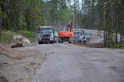 2 juni 2014 - Vindkraftsparken på Mölnerudshöjden var i det närmaste klar. Nu saknades bara vindkraftverken.