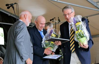 6 juni 2014 - I samband med Nationaldagsfirandet i Årjäng delades fyra priser ut, Kulturpriset, Ungdomsledarstipendiet, Clara Priset och Clara Special priset.