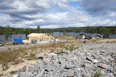 19 juni 2014 - På Prästnäset byggdes ytterligare en villa.