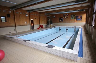 23 juni 2014 - Sista bilden av bassängen i Töcksfors badhus, innan bassängen skrotades.