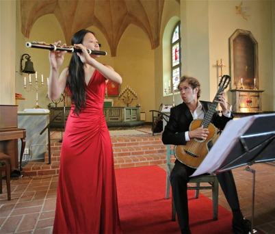 9 augusti 2014 - Sen kom turen till Blomskog att få njuta av musiken som ingick i Allsköns musik.