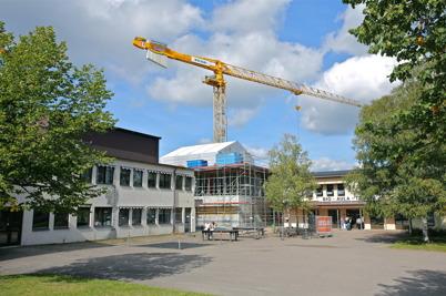 3 september 2014 - Nya högstadieskolan i Årjäng började ta form.