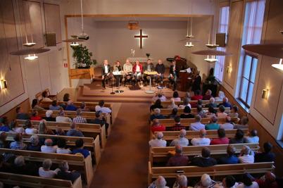 9 september 2014 - I Missionskyrkan var det partiledardebatt inför höstens val.