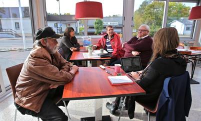 19 september 2014 - Värmlands Folkblad besökte Töcksfors för att göra ett reportage om situationen efter valet.