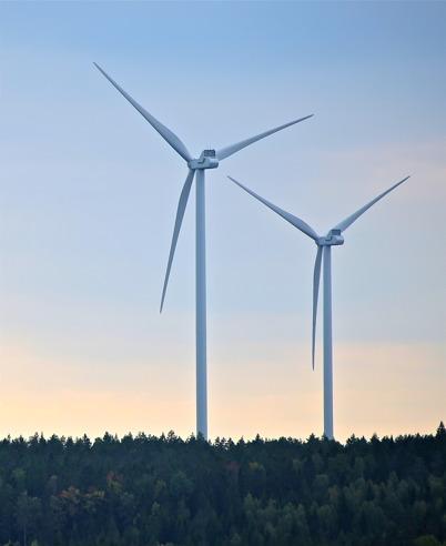 23 september 2014 - De två vindkraftsparkerna i Årjängs kommun stod klara att invigas.