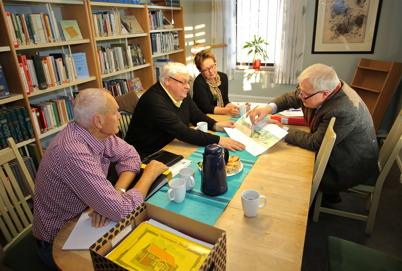 24 september 2014 - Planeringsarbetet för 100-årsfirandet av Kanalen Stora Lee - Östen 2015 fortsatte.