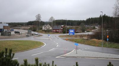 10 november 2014 - Vid Lindudden i Töcksfors fälldes skog.