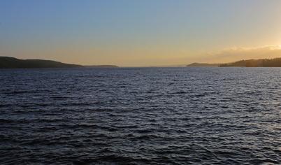 15 december 2014 - Sjön Foxen låg isfri.