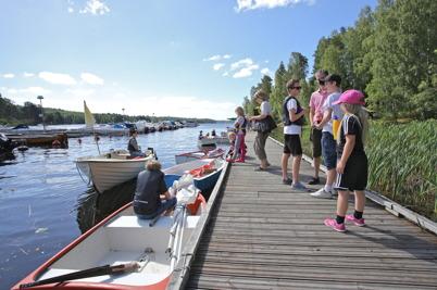 2 juli 2014 - Förberedelser för segling.