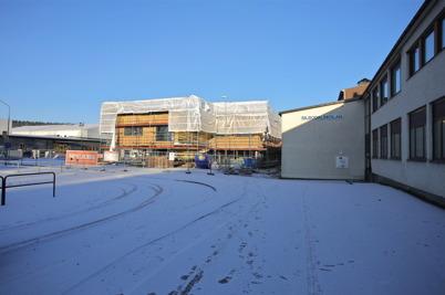 27 december 2014 - Skolbygget i Årjäng tog en paus under jul- och nyårshelgerna.