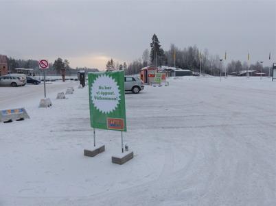 29 december 2014 - Och nya bensinstationen vid McDonald´s öppnade.
