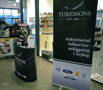 Turessons bilverkstad i Årjäng.