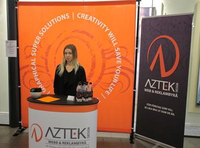 Aztek design i Årjäng fanns på plats.
