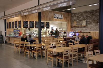 Kaffestugan - café och restaurang i shoppingcentret.