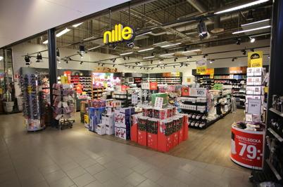 Butiken Nille i shoppingcentret.