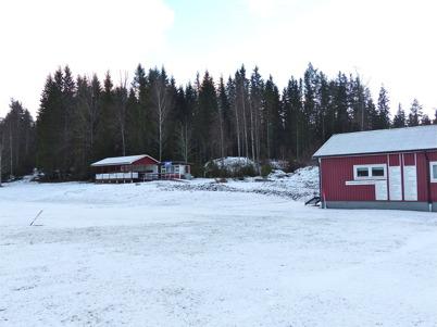3 januari 2013 - vid Hagavallen var det klart för byggstart av TIF:s nya klubbstuga.