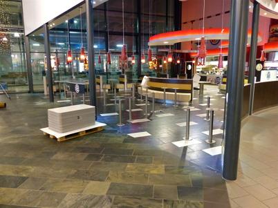 "7 januari 2013 - ""gamla"" Burger King revs som ett led i utbyggnaden av Shoppingcentret."