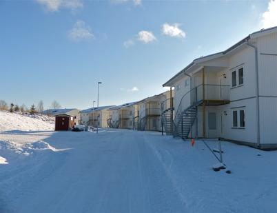20 februari 2013 - flerbostadshusen på Prästnäset var klara för inflyttning.