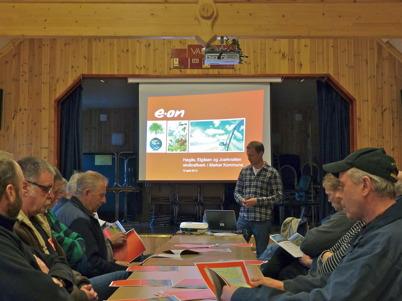 10 april 2013 - i Vår Gård i Fågelvik hölls informationsmöte om planerat vindkraftsbygge på Kölen.