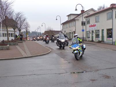 4 maj 2013 - och så var det MC-träff på torget i Töcksfors.