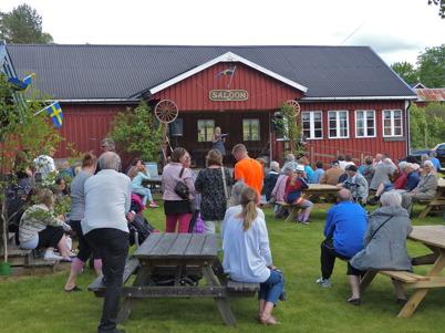 6 juni 2013 - i Östervallskog firades Nationaldagen traditionsenligt.