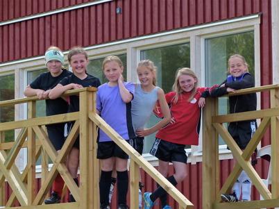 25 juni 2013 - på Hagavallen var det fotbollskola.
