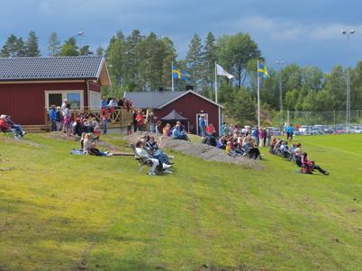 29 juni 2013 - TIF:s nya klubbstuga vid Hagavallen invigdes och föreningen firade 80-årsdag med fotbollsfest.