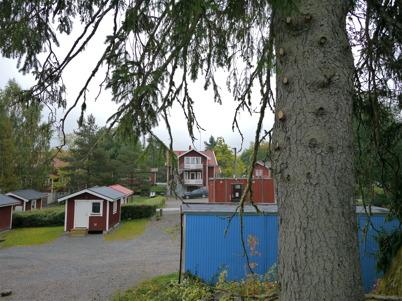 11 september 2013 - vid Turistgården fälldes en gammal gran av säkerhetsskäl.