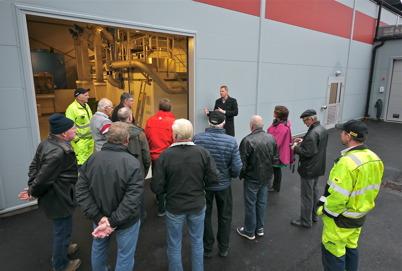 9 november 2013 - och så blev nya reningsverket klart för invigning och visning.