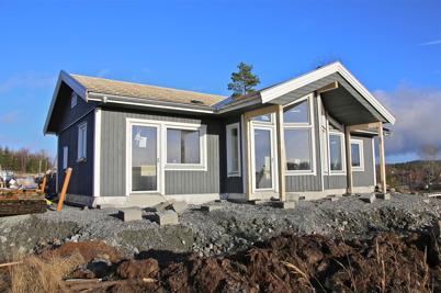 12 november 2013 - på Prästnäset byggdes tredje villan.