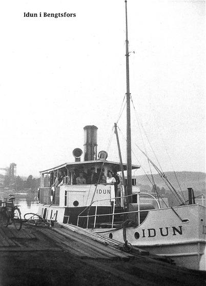 Ångbåten IDUN / Foto : okänd