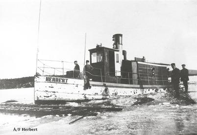 Bogserbåten HERBERT / Foto : okänd