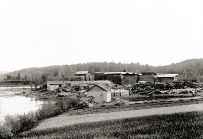 Sågverket i Gottarsbyn.