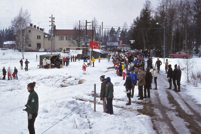 Februari 1975 - Skidtävlingen Over kölen.