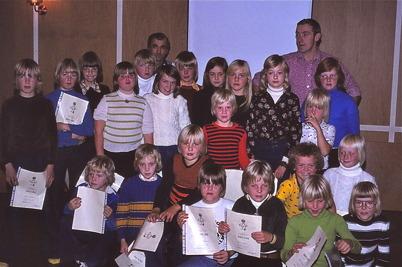 Oktober-november 1975 - Töcksfors IF ungdom