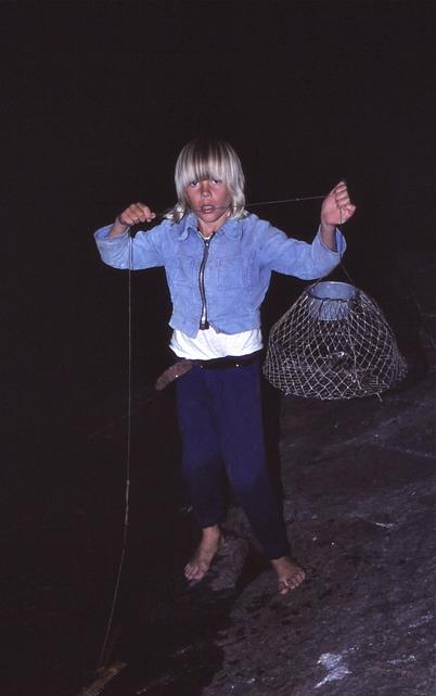 Augusti 1975 - Kräftfiske