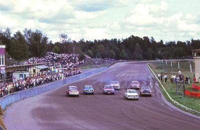 1970 - Motortävling på Årjängs Travbana.