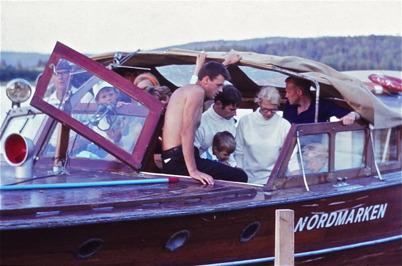 1968 - Passagerarbåten Nordmarken.