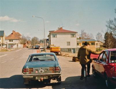 Byggnation av ny lokal för Wermlandsbanken och Folktandvården.