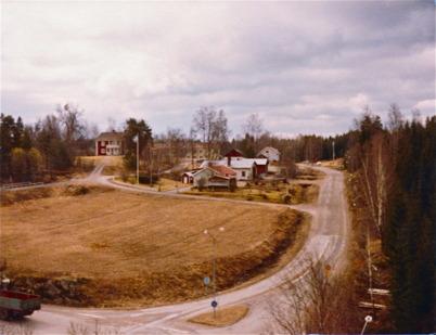 Utsikt från kyrktornet mot Smia.
